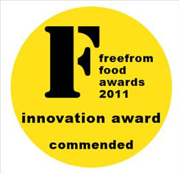Free From Food Award shortlist logo